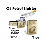 1996-TLF Gold Oil Petrol Lighter