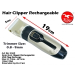 2065 Hair Clipper Rechargeable