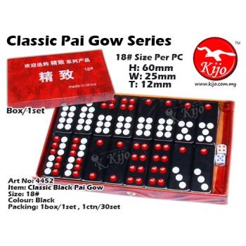 4452 Classic Pai Gow - Black