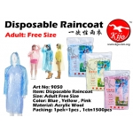 9050 Disposable Raincoat