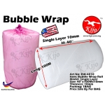 BW-4010 Bubble Wrap Roll - Single Layer