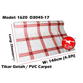 Tikar Getah Gulung / PVC Carpet Roll / Alas Meja Khemah Plastik 1620-D3045-17