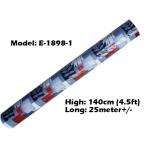 Tikar Getah Gulung / PVC Carpet Roll / Alas Meja Khemah Plastik 1620-E-1898-1
