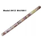 Alas Meja / PVC Plastic Table Cloth / Kain Plastik 8412-M-6100-1