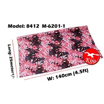 Alas Meja / PVC Plastic Table Cloth / Kain Plastik 8412-M-6201-1