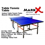 Table Tennis Table Supplier