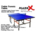 1848 Mark-X Outdoor Table Tennis Table