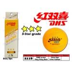 2118 DHS 3-Star Ping Pong Ball