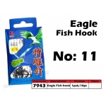 7943 Eagle Fish Hook No: 11