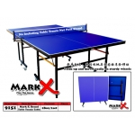 9151 Mark-X Brand Table Tennis Table with Sturdy wheels