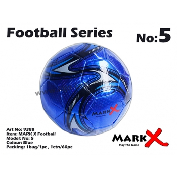 9388 MARK X Football No5 Blue