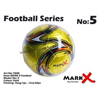 9388 MARK X Football No5 Gold