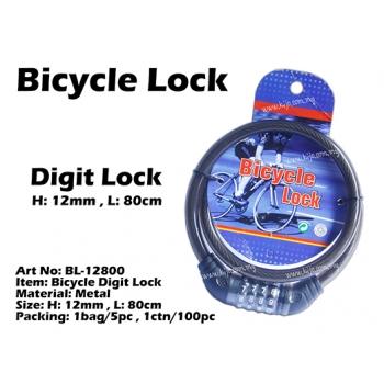 BL-12800 Bicycle Digit Lock