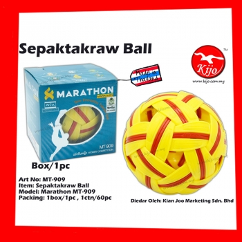 MT-909 Marathon Women Sepaktakraw Ball