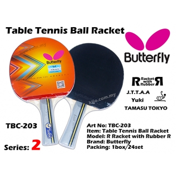 Butterfly TBC-203 Table Tennis Ball Racket
