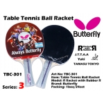 Butterfly TBC-301 Table Tennis Ball Racket