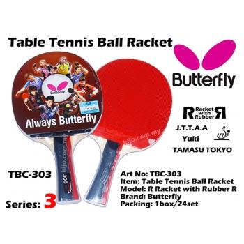 Butterfly TBC-303 Table Tennis Ball Racket
