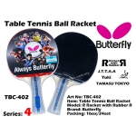 Butterfly TBC-402 Table Tennis Ball Racket
