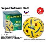311 Gajahmas Sepaktakraw Ball