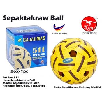 511 Gajahmas Sepaktakraw Ball