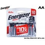 9364 Energizer Max E91 BP-6 AA