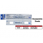 7276 Geometric Tools Ruler