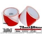 8665 72mmX50meter Warning Tape