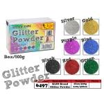 6497 Kijo Glitter Powder Colour: Silver