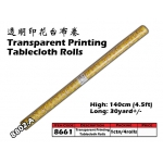 8661-8802-A Kijo Printing Tablecloth Roll