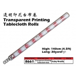 8661-8822-A Kijo Printing Tablecloth Roll