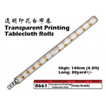 8661-8827 Kijo Printing Tablecloth Roll