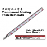 8661-8837-A Kijo Printing Tablecloth Roll