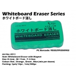 4911 Whiteboard Eraser with Magnet>Green