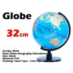 9578 32cm Globe Geography Educational