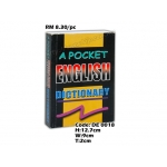 DE 0018 Pocket English Dictionary
