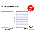 Whiteboard Roll Non Magnet 60x90cm WhiteBoard Roll WBR-2436