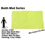 1737 Kijo Bath Mat Colour: Fluorescent Green