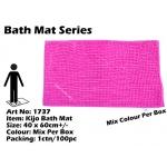 1737 Kijo Bath Mat Colour: Fluorescent Pink
