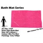 1737 Kijo Bath Mat Colour: Pink