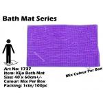 1737 Kijo Bath Mat Colour: Purple