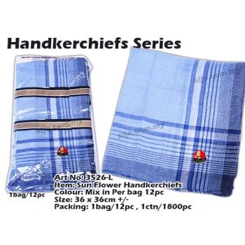 3526-L Sun Flower Handkerchiefs