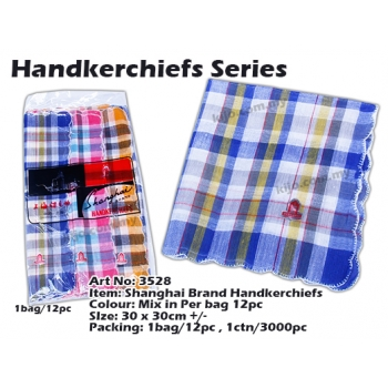 3528 Shanghai Brand Handkerchiefs