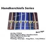 7798-D1 Elephant Men Handkerchiefs
