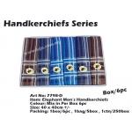 7798-D3 Elephant Men Handkerchiefs