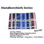7798-D5 Elephant Men Handkerchiefs