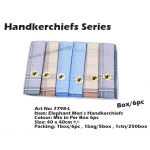 7798-L3 Elephant Men Handkerchiefs
