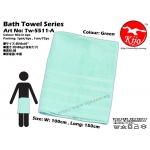 Tw-5511-A KIJO Bath Towel - Green