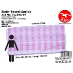 Tw-876-97 KIJO Bath Towel - Pink