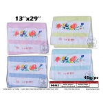 66A1 KIJO 100% Cotton Queen Washcloth