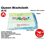 TW66A1S KIJO Queen Washcloth